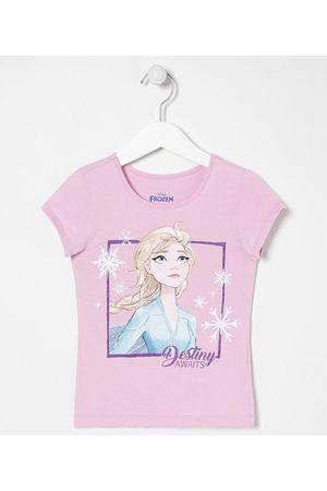 Frozen Blusa Infantil Estampa Elsa e Flocos de Neve - Tam 2 a 10 anos | | | 02