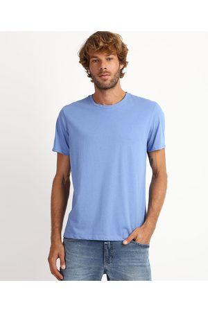 Basics Homem Manga Curta - Camiseta Masculina Manga Curta Gola Careca