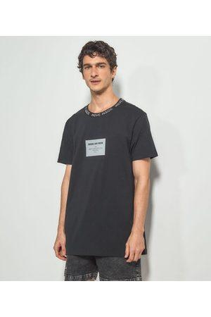 Blue Steel Homem Manga Curta - Camiseta com Estampa Inside and Move | | | P