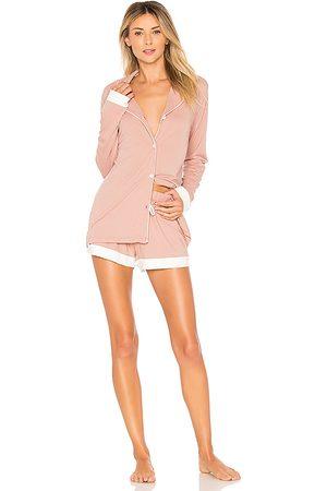Cosabella Bella Bridal PJ Set in Pink. - size L (also in S, M)
