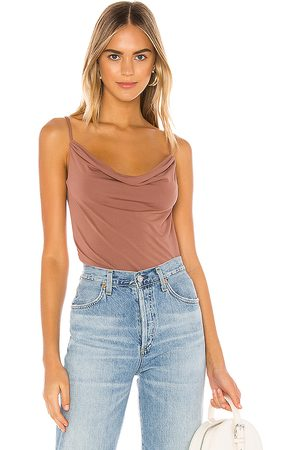 Lovers + Friends Bree Top in Mauve. - size L (also in M, S, XL, XS)