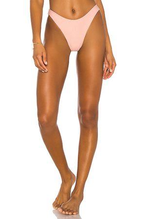 superdown Alexa Bikini Bottom in Pink. - size XL (also in L, M, S, XS, XXS)