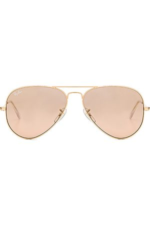 Ray-Ban Aviator Gradient in Brown.