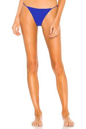 superdown Anora Bikini Bottom in Blue. - size L (also in XS, S, M, XL)