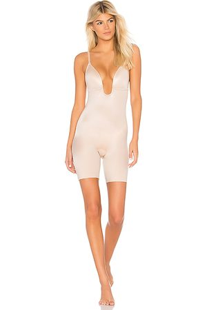 Spanx Suit Your Fancy Bodysuit in Beige. - size L (also in XS, S)