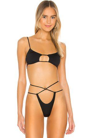 Monica Hansen Beachwear Havana Bikini Top in . - size M (also in S, XS)
