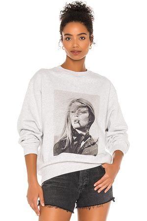 ANINE BING Ramona Sweatshirt AB x TO in Grey. - size L (also in XS, S, M)