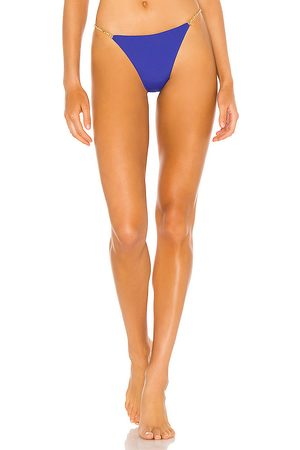 Vix Chain Cheeky Bikini Bottom in Royal. - size L (also in M, S, XS)