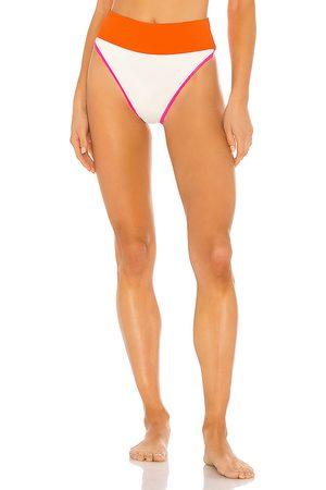 BEACH RIOT X REVOLVE Emmy Bikini Bottom in White. - size L (also in M, S, XS)