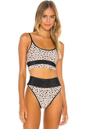 Beach Riot Eva Bikini Top in Tan. - size M (also in XS)