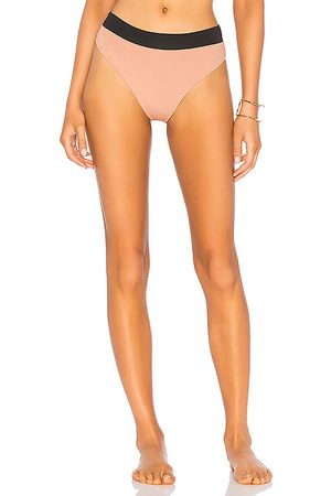 KYA Isla Reversible Bikini Bottom in Mauve. - size M (also in XS, S)