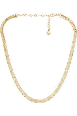 Baublebar Colares - Gia Herringbone Necklace in Metallic .