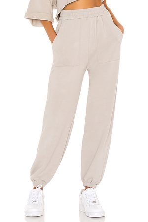 Lovers + Friends Pocket Jogger in Taupe. - size L (also in M, S, XL, XS, XXS)