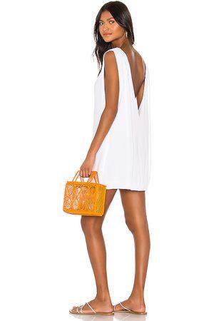 Indah Pella Plunge Mini Dress in . - size L (also in S, XS, M)