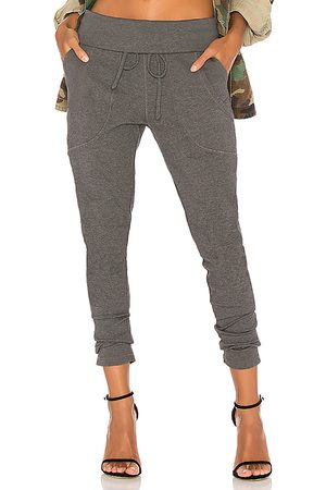 Bobi Luxe Lounge Jogger in Grey. - size L (also in XS, S)