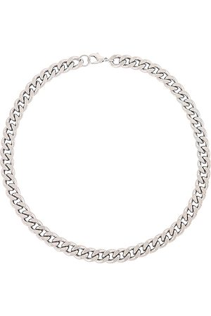 8 Other Reasons Sterling Chain Necklace in Metallic .