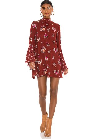 Free People Tate Tunic in Brick. - size L (also in XS, S, M)