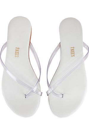 Tkees Riley Sandal in White. - size 10 (also in 6, 5, 7, 8, 9)