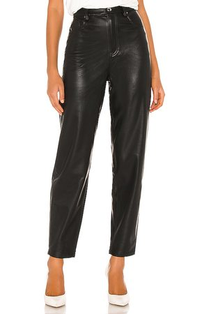 WeWoreWhat Dani Vegan Leather Boyfriend Pant in . - size 24 (also in 25, 26, 29)