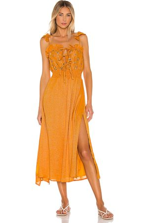 sundress Amour Dress in Yellow. - size M/L (also in XS/S)