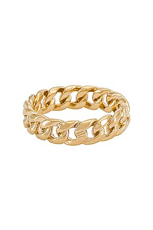 MIRANDA FRYE Rowen Ring in Metallic . - size 5 (also in 6, 7, 8)
