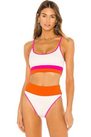 Beach Riot X REVOLVE Eva Bikini Top in White. - size L (also in M, S)