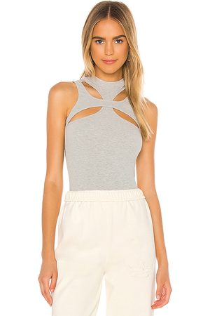 superdown Grayson Cut Out Top in Light . - size M (also in S, XL, XS, XXS)
