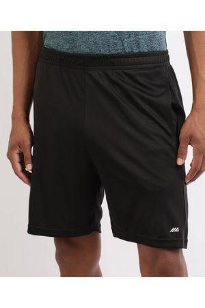 ACE Homem Shorts Esportivos - Calção Masculino Esporte Futebol com Bolsos e Cós com Elástico