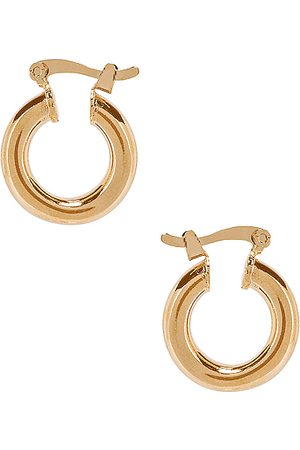 The M Jewelers NY Small Ravello Hoops in Metallic .