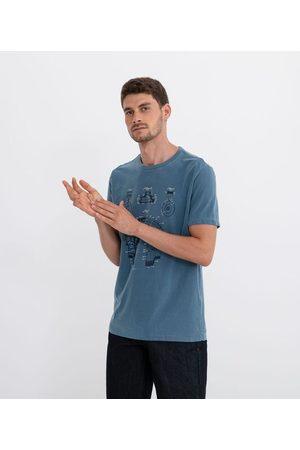 Marfinno Camiseta com Estampa Fone | | | G