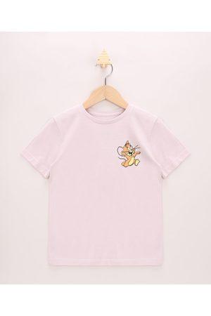 Warner Bros Menino Manga Curta - Camiseta Infantil Pantera Cor De Manga Curta Gola Careca Claro