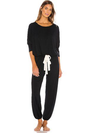 Eberjey Gisele Slouchy Set in Black. - size S (also in XS)