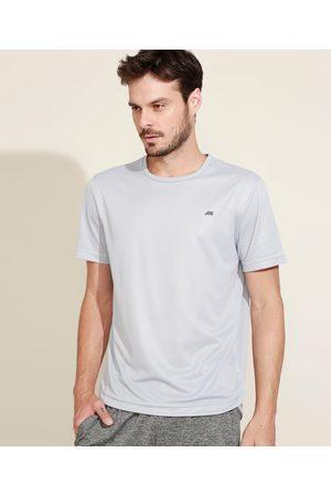 ACE Camiseta Masculina Esportiva Manga Curta Gola Careca