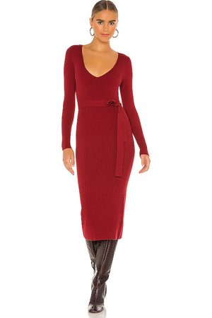 House of Harlow X REVOLVE Aaron Knit Dress in Red. - size M (also in XL)
