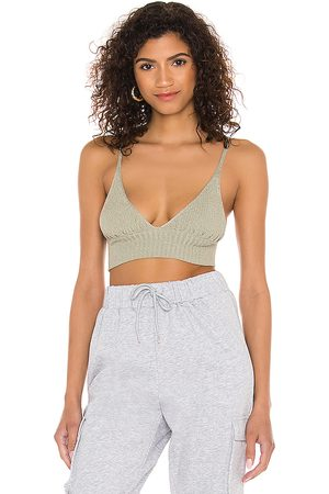 Free People Camisa Formal - Ellery Sweater Longline in Sage. - size L (also in XS, S, M, XL)