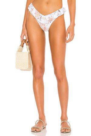 WeWoreWhat Bikini - Ruffle Delilah Bikini Bottom in . - size M (also in S)