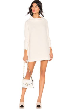 Free People Ottoman Slouchy Tunic Sweater Dress in White. - size S (also in XL)