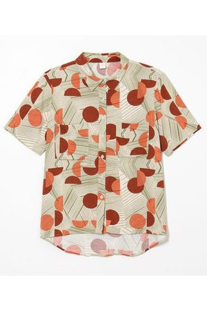 Blue Steel Camisa Manga Curta Estampada | | | P