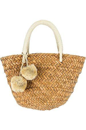 KAYU Mini St Tropez Bag in Tan.