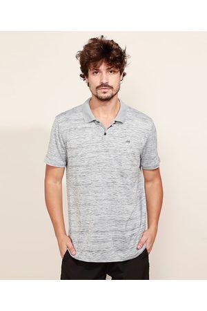 ACE Homem Camisa Pólo - Polo Masculina Esportiva com Capuz Manga Curta Mescla