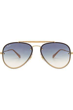 Ray-Ban Óculos de Sol - Blaze Aviator in Blue.