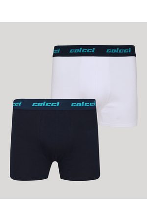 Colcci Kit de 2 Cuecas Masculinas Boxer Multicor