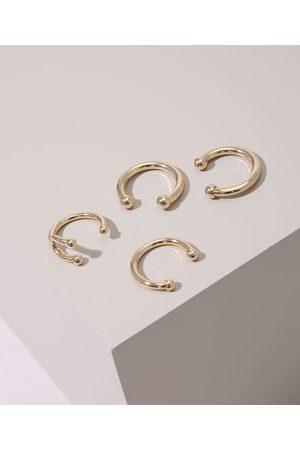 C&A Kit de 4 Anéis Piercing
