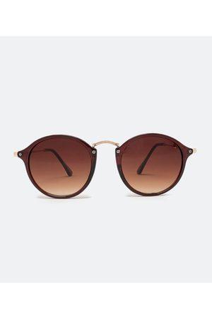 Accessories Óculos de Sol Feminino Modelo Redondo | | | U