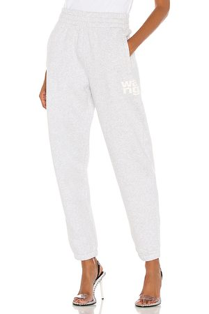 Alexander Wang Foundation Terry Classic Sweatpant in Grey. - size M (also in L, S, XS)