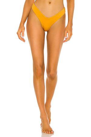 Monica Hansen Beachwear Babe Watch Bikini Bottom in Orange. - size L (also in M, S, XS)