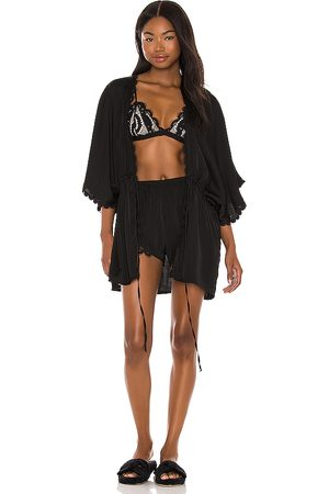 PQ Lace Robe in Black. - size M/L (also in XS/S)