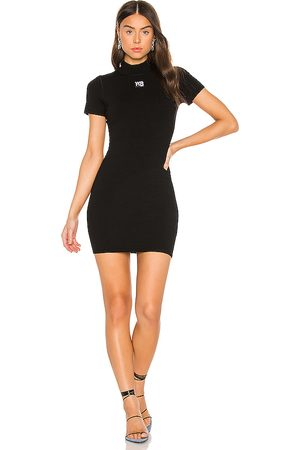 Alexander Wang Bodycon Crewneck Tee Dress in . - size L (also in M, S, XS)