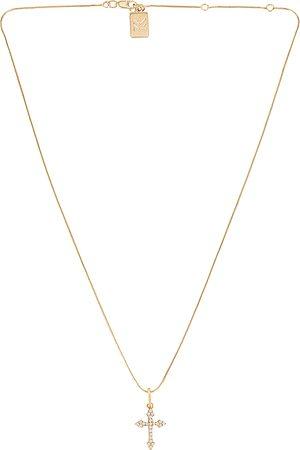 MIRANDA FRYE Harmony Charm & Gigi Chain Necklace in Metallic .