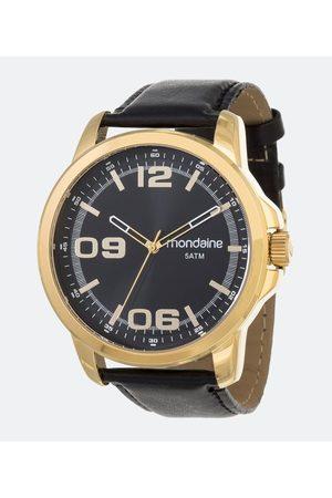 Mondaine Homem Pulseiras - Kit Relógio Analógico 5ATM + Brinde       U